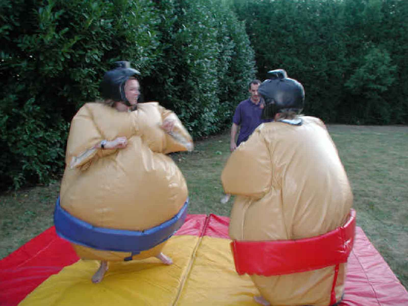 jeux gonflable sumos