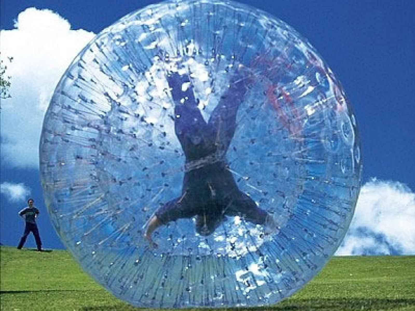 jeux gonflable zorb balls
